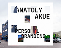 Anatoly Akue personal branding concept