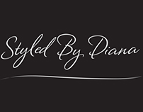 Logo, Styled By Diana, Hair Design and Makeup