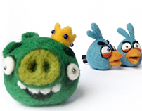 Angry Birds vs Pigs