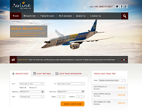 Airline - Web Design Project