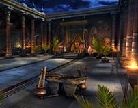Throne Room - 3D Environment