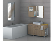 Cube - bathroom furniture