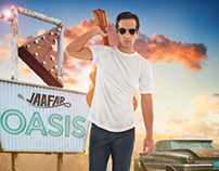 Jaafar Oasis album cover