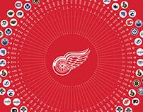 NHL Schedule Template