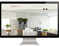 """Ardix HOTELS"" Website"
