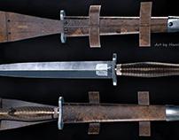 British WWII Royal Marine Commando Dagger