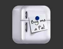«Buy Me a Pie!» test-icon