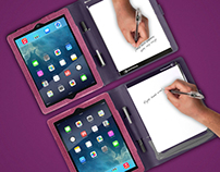Booqpad, purple-plum