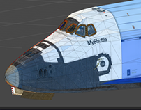 3D Game Assets: Space Shuttle Legacy