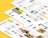 Multipurpse E-commerce Template
