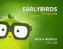 EarlyBirds - Application & User Interface