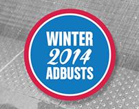 Winter 2014 Adbusts