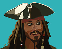 Jack Sparrow Illustration