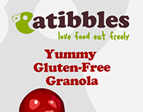 Eatibbles branding, illustration, website and packaging