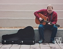 Promotional Photos for Florida based Singer-Songwriter