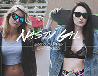 Nasty Gal Spring/Summer 2014 Lookbook