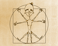 The Vitruvian Dude