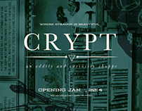 CRYPT: brand identity