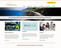 Expedia, Inc. website design