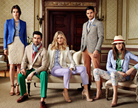Chester & Peck Spring - Summer 2014 Ad Campaign