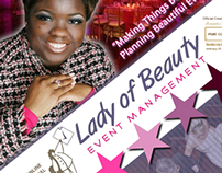 Lady Of Beauty Events Marketing Campaign 2011-14
