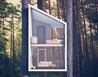 Angle tree hotel