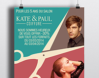 KATE & PAUL - Coiffure