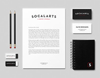 SOCALARTS Branding Mock-up