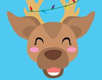 Reindeer : Illustrated