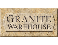 Granite Warehouse logo and website