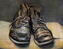 Still life- Vintage Boots