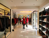 Fashion Outlet Displays 3D Virtual Dressing