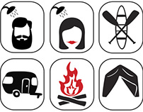 Campsite Pictograms