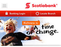 Scotiabank Mobile Website
