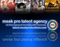 Meak Productions' Talent Agency Campaigns Prt 1 2007-14