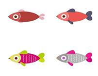 Marine Creatures Icons