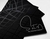 Architect Sebastián Calderón Business Card