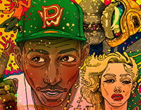 ' Marilyn Monroe-Pharrell Williams '