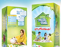 Milk Pak packaging 2012-13