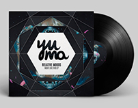 Yuma recordings releases and posters