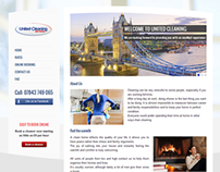United Cleaning Services | London, Re-Design