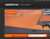 Shortstay - Free template ( PSD Included )