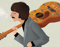 The Darjeeling Limited - Beatles - Mash Up Illustration