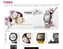 Timex Website