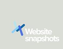 Website snapshots