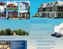Real estate boutique site design