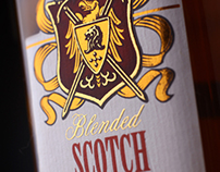 "Scotch Whiskey Design ""Immortal Clan"" / Дизайн Виски"