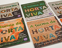 Horta Viva - book design and illustrations