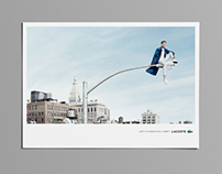 LACOSTE : Life is a beautiful sport