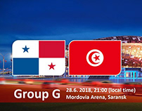Panama vs Tunisia World Cup 2018